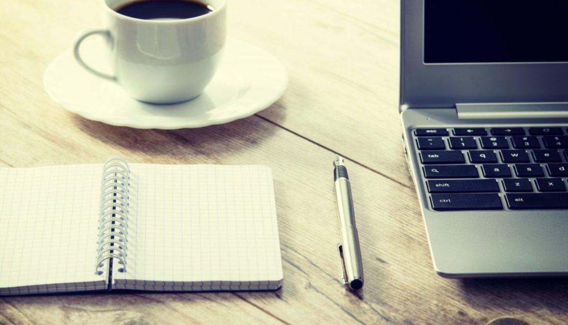 coffee laptop