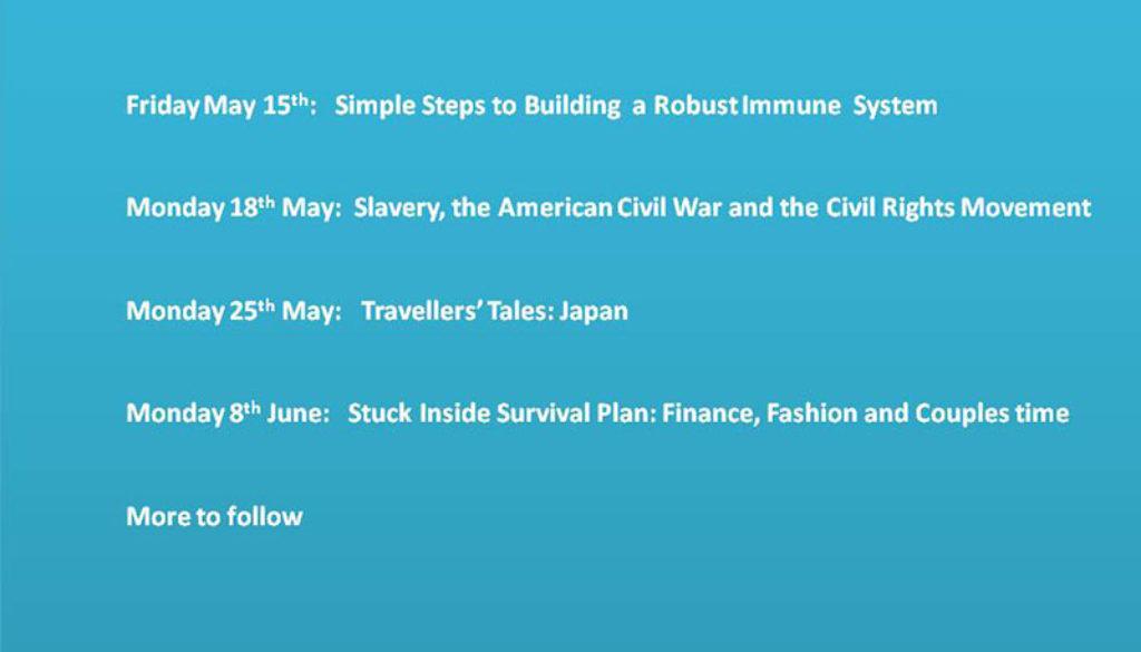 Events slide