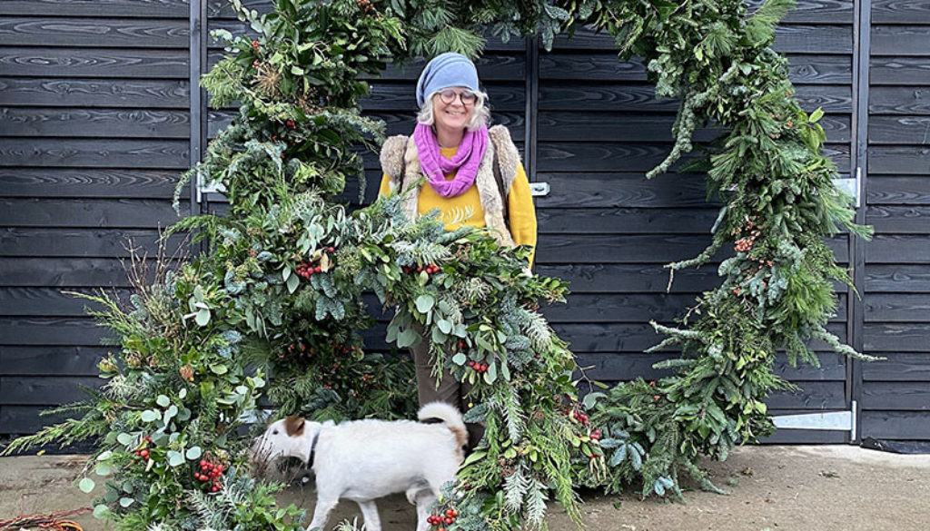 wreath with Fiona and dog crop for web